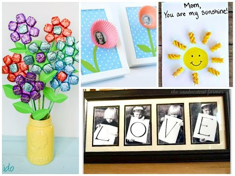 Easy Mother's Day Crafts for Kids - 20 Best Ideas of Mothers Day Gifts
