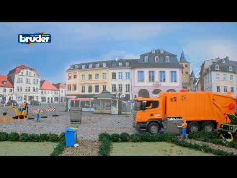 Bruder Toys SCANIA R-series Garbage Truck 03560