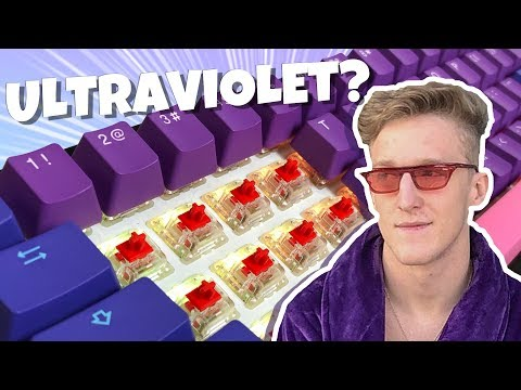 We Did Surgery On Tfue's New Ultraviolet Keyboard And Tried It In Fortnite