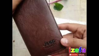 Dompet Kulit Pria Dompet Kulit Panjang Pria - Jeep Buluo ORIGINAL
