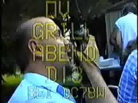 OV-Abend am 13. Juli 1994 bei Achim DC7BW im Garten