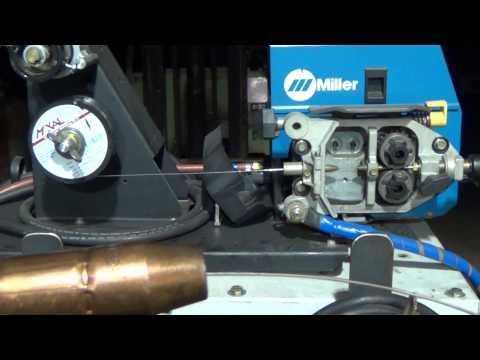"Aluminum MIG Welding Wire Feeding ""Experiment"""