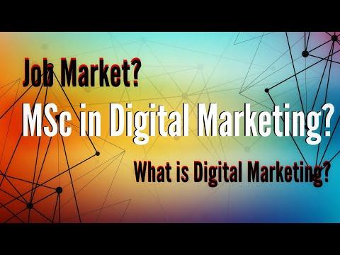Digital Marketing Jobs and Masters in Ireland