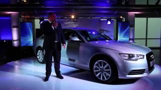 Презентация нового Audi A6 в Ауди Центр Москва