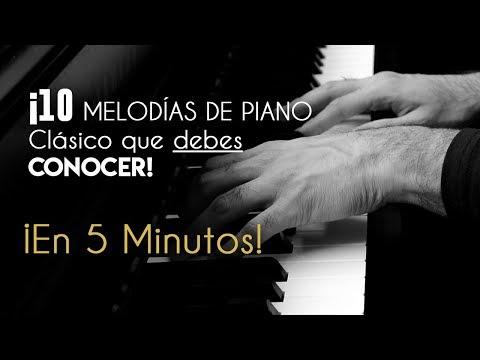 10 Piano Pieces You Should Know!