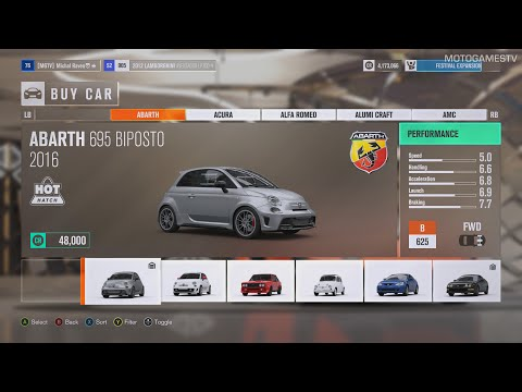 Forza Horizon 3 - All Cars from Autoshow (20.09.2016)