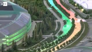 Kazakhstan prepares futuristic complex for Expo 2017