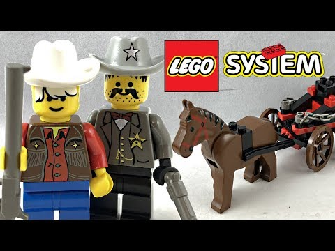 LEGO Western Showdown Canyon review - Part 1! 1997 set 6799!