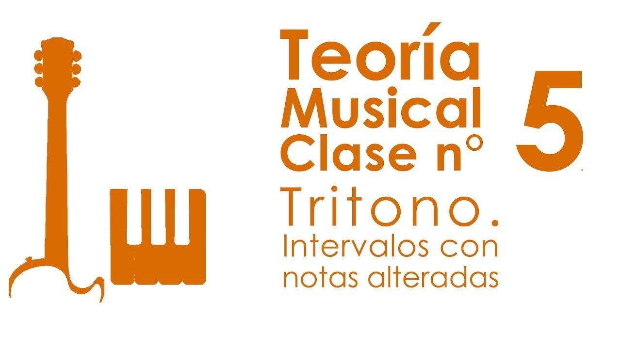 Tritono. Intervalos con Notas Alteradas | Teoría Musical, Clase 5
