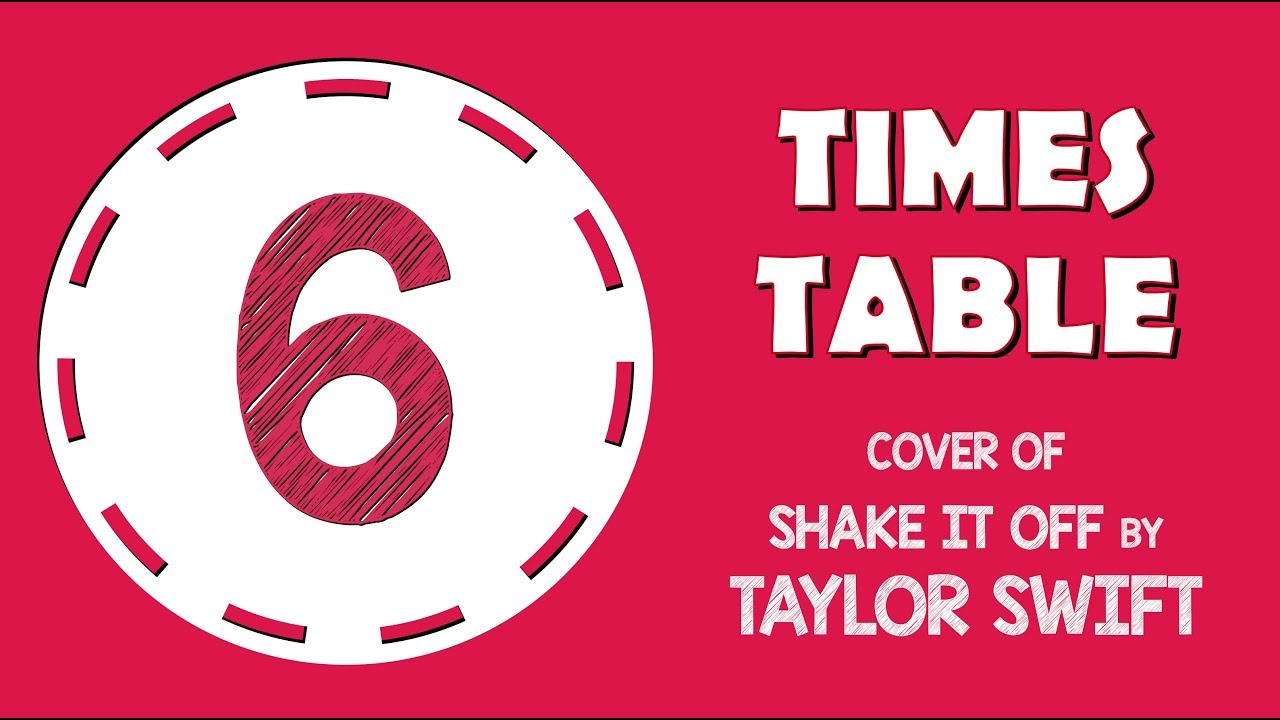 six times tables song