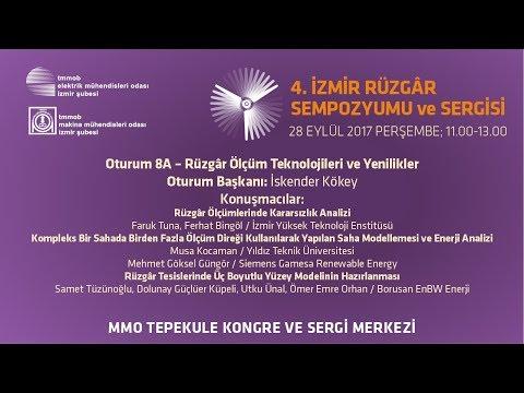 4. İzmir Rüzgâr Sempozyumu - 8A. Oturum