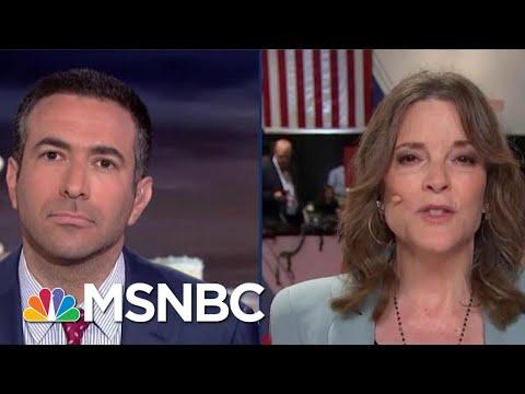 2020 Dem Marianne Williamson Addresses Vaccination Controversy | The Beat With Ari Melber | MSNBC