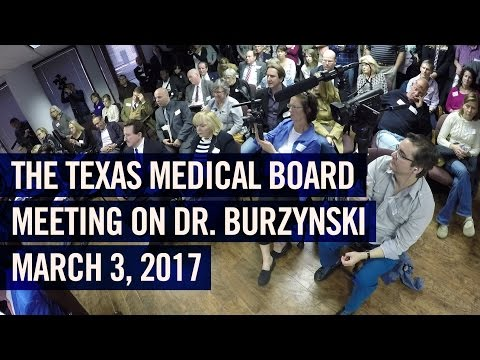 Dr. Burzynski  | March 3, 2017 | Texas vs. Burzynski Meeting | Full