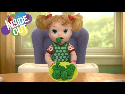 Play Doh Baby RILEY INSIDE OUT Inspired Costume BABY ALIVE doll