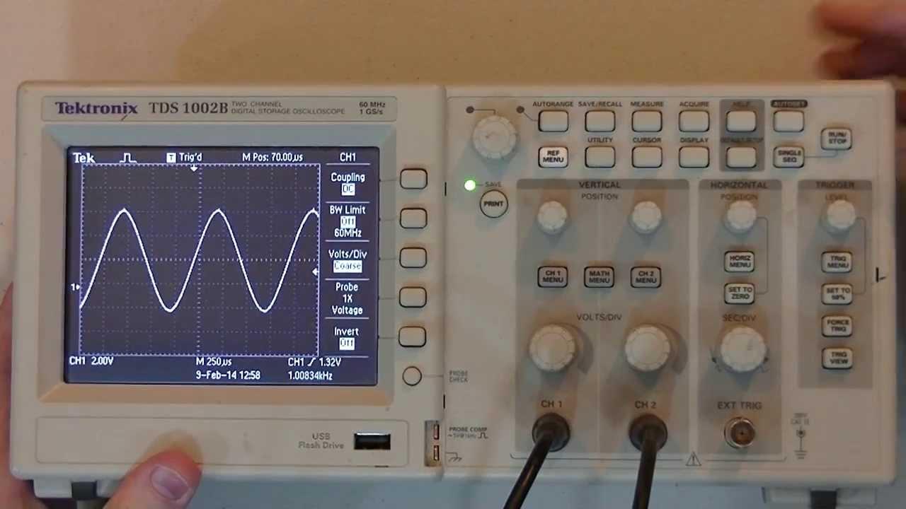 Analog Electronics - Oscilloscope Basics - YouTube