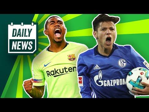 Konoplyanka weg? Harit weg? Naldo weg? Schalke 04 räumt auf! Neues von Pulisic! Geht Malcom?