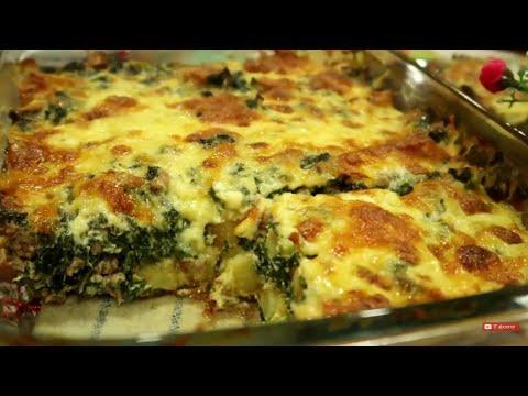 gratin-d'épinards-👍👍👊🤜ستعشق-أكل-السبانخ-بعد-هذه-الوصفة