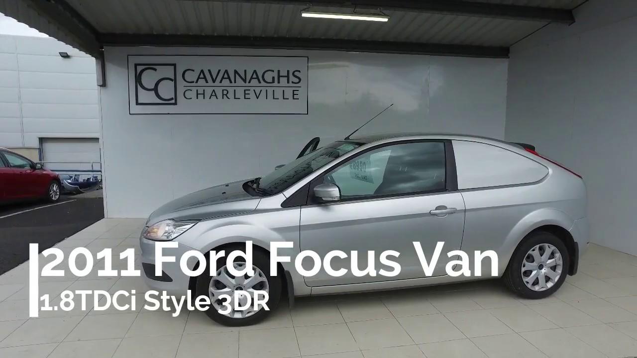 2011 Ford Focus Van