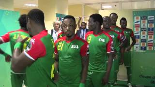In The Tunnel Before Congo Vs Burkina Faso - Orange Africa Cup Of Nations, Equat