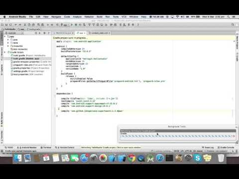 How to use/import library in Android Studio - YouTube