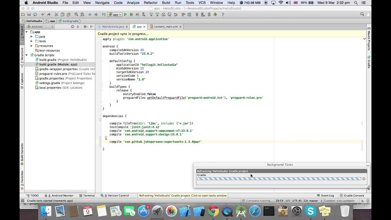 How to use/import library in Android Studio