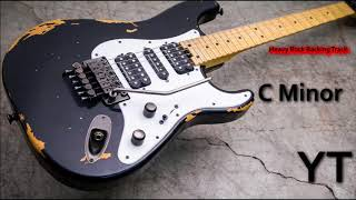 Heavy Rock Guitar Backing Track C Minor