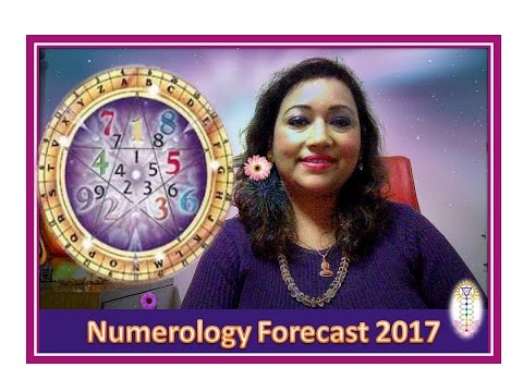 NUMEROLOGY FORECAST 2017