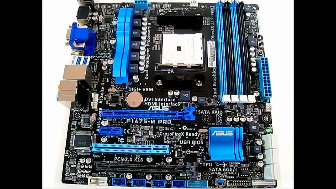 Asus F1A75-M PRO AMD Chipset Drivers for PC