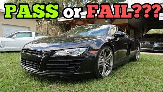 Can My Salvage Audi R8 Pass Rebuild Inspection with its Cheap Frame Repair?