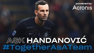 LIVE | INTER TV videochat with SAMIR HANDANOVIC powered by Acronis | #TogetherAsATeam [SUB ENG] ©🖥