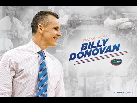 Thank You, Billy Donovan