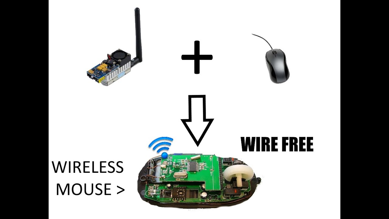 How To Make a Wireless Mouse! DIY - YouTube