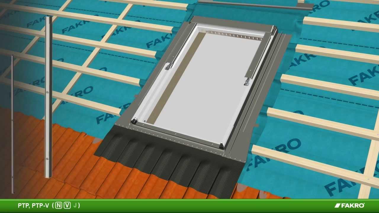 Fakro Pvc Centre Pivot Roof Window Ptp Youtube