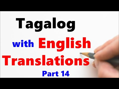 Learn Tagalog - Simple Conversation, Asking For Direction