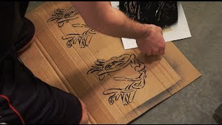HOW TO: GRAFFITI -- INTRO TO STENCILING