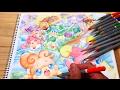 映画「かみさまみならい ヒミツのここたま 奇跡をおこせ♪テップルとドキドキここたま界」eiga cocotama coloring book