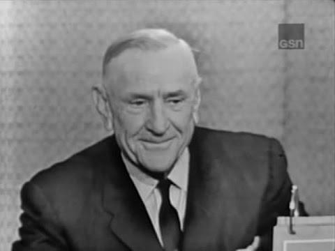 What's My Line? - Casey Stengel; Tony Randall [panel] (Apr 15, 1962)