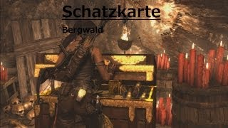 Tomb Raider Schatzkarte - Bergwald