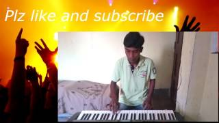 Tum hi ho song... from aashqui2 on keyboard cover by amit kumar