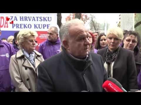 Predstavljanje kandidacijskih lista koalicije Uspješna Hrvatska ZAGREB