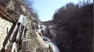 Il fiume Mirna-Quieto a Kotli, paese fra Buzet-Pinguente e Hum-Colmo