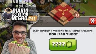 DIÁRIO do ELIXIR NEGRO #41 - VOU GEMAR TUDO NO CLASH OF CLANS