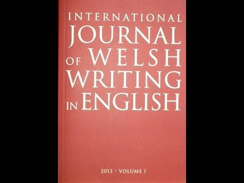 International Journal of Welsh Writing in English: interview with Daniel Westover