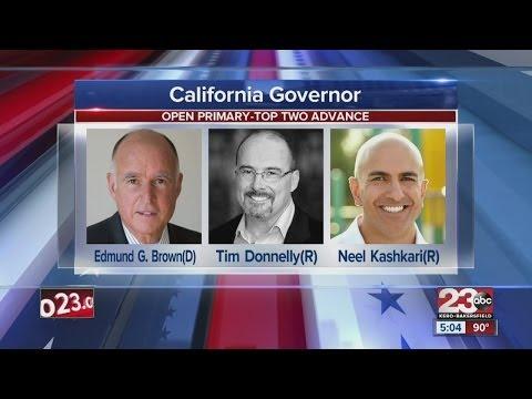 California Governor race