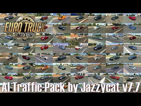 ETS2 v1 31 I Mod ▶️ AI Traffic Pack by Jazzycat v7 7