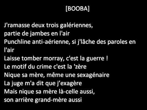 Booba ft Kaaris Kalash Lyrics