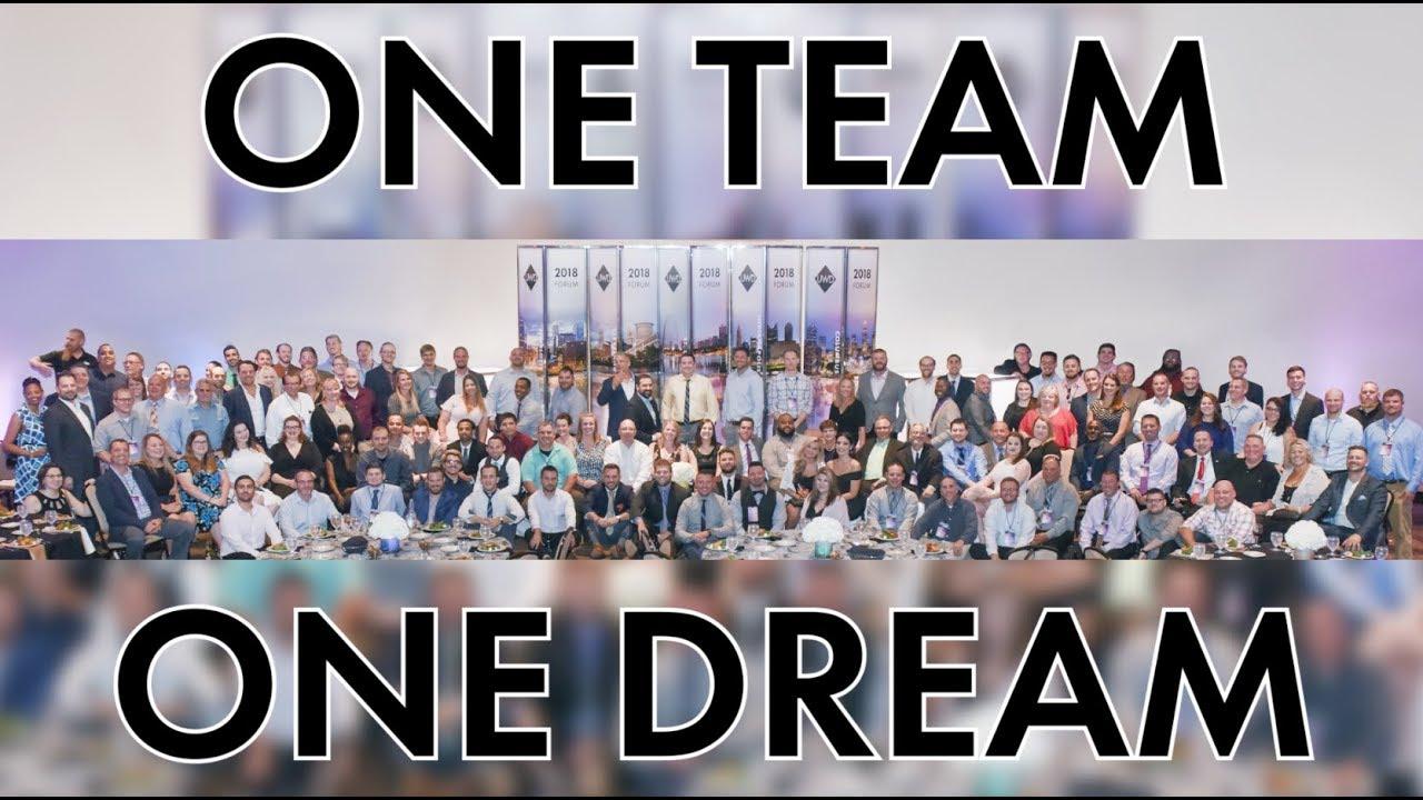 ONE TEAM ONE DREAM - AN AMAZING WEEKEND COMPANY RETREAT! - YouTube