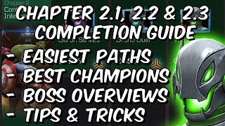 Ultron's Assault Variant Chapter 2 - 2.1, 2.2 & 2.3 Completion Guide - Marvel Contest Of Champions
