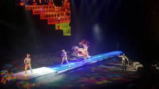 Клоуны акробаты Королевский цирк Гии Эрадзе