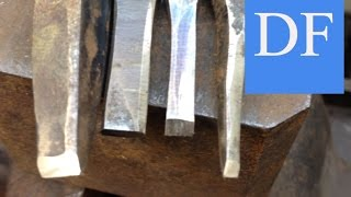Blacksmithing for Beginners - Understanding Cold Chisels